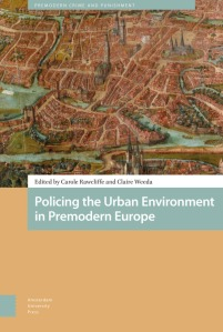 Policing the Urban Environment Book Cover